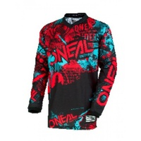 Oneal 2018 Element Jersey Attack Black/Red/Teal