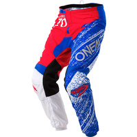Oneal 2018 Element Pants Burnout Red/White/Blue