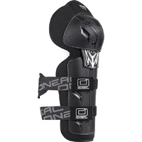 Oneal Pro II RL Carbon Look Adult Knee Guards Black