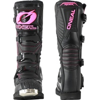 Oneal 2020 Rider Ladies Boots Black/Pink