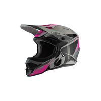 Oneal 2020 3 Series Helmet Stardust Black/Grey/Pink