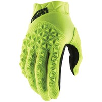 100% Airmatic Gloves Fluro Yellow/Black