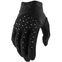 100% Airmatic Youth Gloves Black/Charcoal