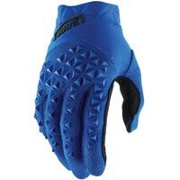 100% Airmatic Gloves Blue/Black