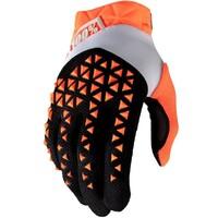 100% Airmatic Gloves Orange/Black