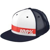 100% Bonneville Trucker Hat Navy/White