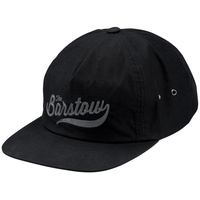 100% Barstow Lenwood Snapback Hat Black