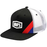 100% Cornerstone Youth Trucker Hat Black