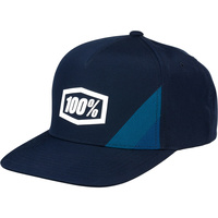 100% Cornerstone Youth Trucker Hat Navy