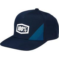100% Cornerstone Trucker Hat Navy