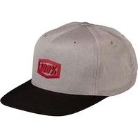 100% Enterprise Snapback Hat Warm Grey