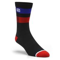 100% Flow Performance Socks Black