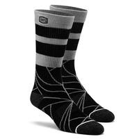 100% Fracture Athlete Socks Black