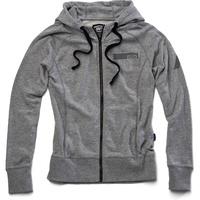 100% Journey Womens Zip-Up Hoodie Sweatshirt Grey