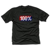 100% Old School T-Shirt Black