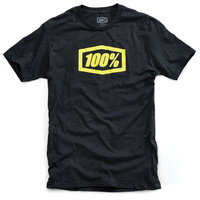 100% Essential T-Shirt Charcoal