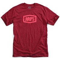 100% Essential T-Shirt Burgundy