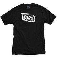 100% Flag Youth T-Shirt Black