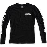 100% Terminal Long Sleeve T-Shirt Black