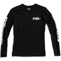 100% Terminal Long Sleeve T-Shirt Black