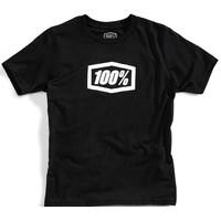 100% Essential Youth T-Shirt Black