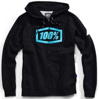 100% Syndicate Zip-Up Hoodie Sweatshirt Hyperloop