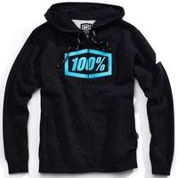 100% Syndicate Zip-Up Hoodie Sweatshirt Hyperloop
