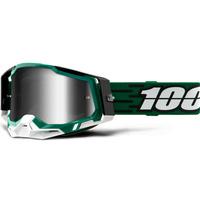 100% Racecraft2 Goggles Milori w/Mirror Silver Lens