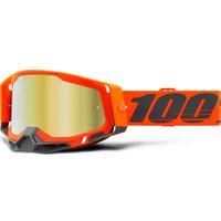 100% Racecraft2 Goggles Kerv w/Mirror Gold Lens