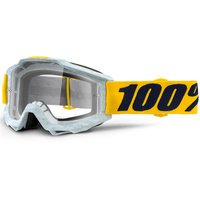 100% Accuri Goggles Athleto w/Clear Lens