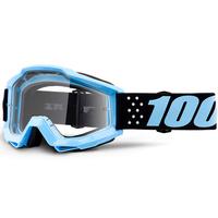 100% Accuri Goggles Taichi w/Clear Lens