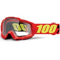 100% Accuri Enduro Goggles Saarinen w/Clear Dual Lens