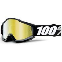 100% Accuri Goggles Tornado w/Mirror Gold Lens
