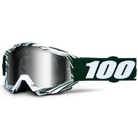 100% Accuri Goggles Bali w/Silver Tinted Lens