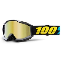100% Accuri Goggles Virgo w/Mirror Gold Lens