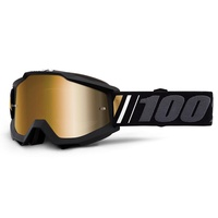 100% Accuri Goggles Off w/Mirror True Gold Lens