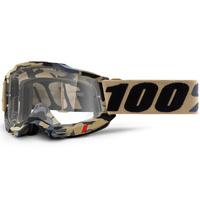 100% Accuri2 Goggle Tarmac w/Clear Lens