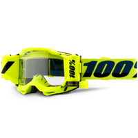 100% Accuri2 Forecast Goggle Yellow w/Clear Lens