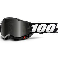 100% Accuri2 Sand Goggle Black w/Smoke Lens