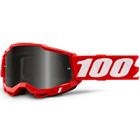 100% Accuri2 Sand Goggle Red w/Smoke Lens