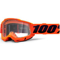100% Accuri2 OTG Goggle Orange w/Clear Lens