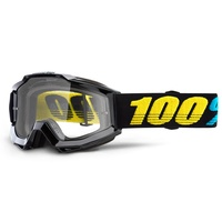 100% Accuri Youth Goggles Virgo w/Clear Lens