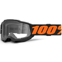 100% Accuri2 Youth Goggle Chicago w/Clear Lens