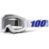 100% Strata Goggles Equinox w/Clear Lens