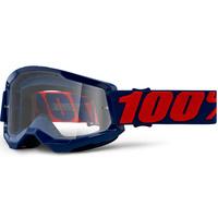 100% Strata2 Goggle Masego w/Clear Lens