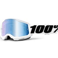 100% Strata2 Goggle Everest w/Mirror Blue Lens
