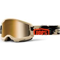 100% Strata2 Goggle Kombat w/True Gold Lens