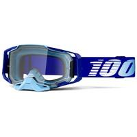 100% Armega Goggles Royal w/Clear Lens
