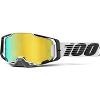 100% Armega Goggle Atmos w/Mirror Gold Lens