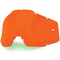 100% Replacement Orange Anti-Fog Lens for Racecraft/Accuri/Strata Goggles